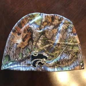 KState Camo Stocking Hat